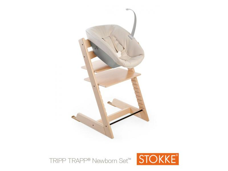 tripp trapp newborn set white stokke 186601. Black Bedroom Furniture Sets. Home Design Ideas