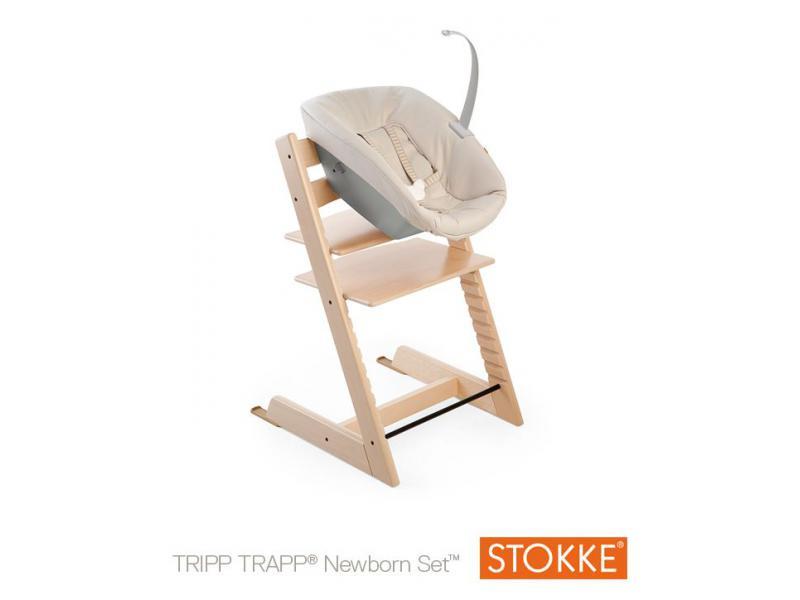 tripp trapp newborn set white stokke 186601. Black Bedroom Furniture Sets. Home Design Ideas